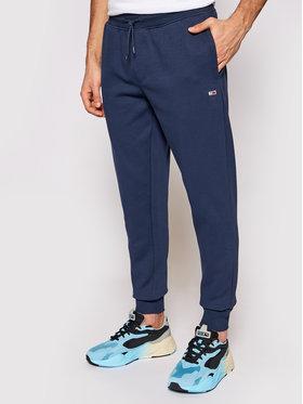 Tommy Jeans Tommy Jeans Spodnie dresowe Tjm Fleece DM0DM09954 Granatowy Slim Fit