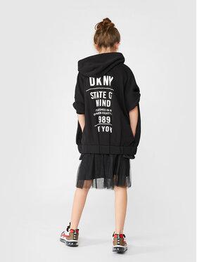 DKNY DKNY Sweatshirt D35R83 M Noir Regular Fit