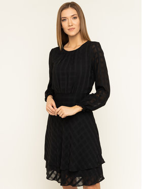 DKNY DKNY Sukienka koktajlowa DD9FY742 Czarny Regular Fit