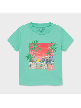 Mayoral Mayoral T-shirt 1013 Verde Regular Fit