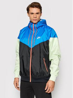 Nike Nike Kurtka do biegania Windrunner DA0001 Niebieski Standard Fit