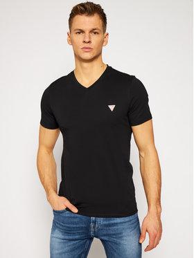 Guess Guess T-Shirt M1RI37 I3Z11 Czarny Slim Fit