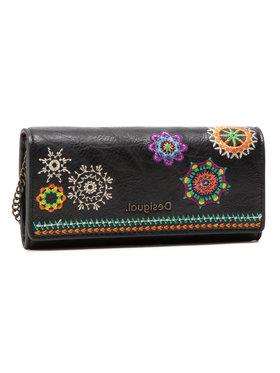 Desigual Desigual Veľká dámska peňaženka 21SAYP57 Čierna