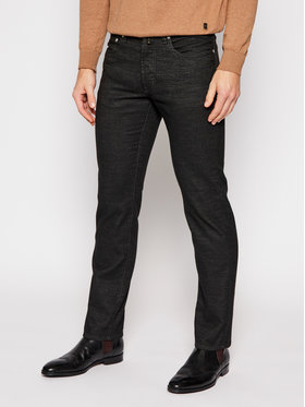Pierre Cardin Pierre Cardin Pantaloni di tessuto 30917/000/4791 Nero Modern Fit