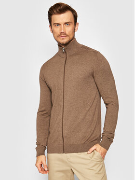 Selected Homme Selected Homme Cardigan Berg 16074688 Marron Regular Fit