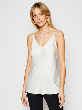 Max Mara Leisure Max Mara Leisure Top Lucca 31610116 Biały Regular Fit