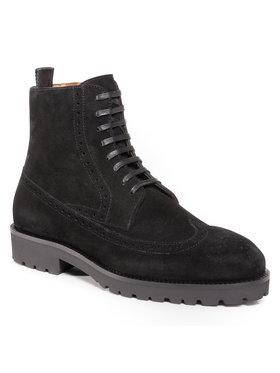 Boss Boss Outdoorová obuv Edenlug 50440123 10212392 01 Čierna