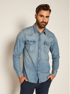 Levi's® Levi's® Košile Barstow Western Standard 85744-0001 Modrá Standard Fit