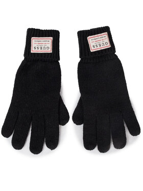 Guess Guess Pánské rukavice NOT COORDINATED GLOVES AM8586 WOL02 Černá