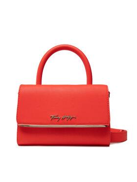 Tommy Hilfiger Tommy Hilfiger Táska Modern Bar Bag AW0AW10372 Piros