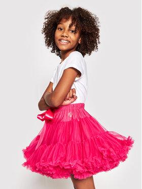 LaVashka LaVashka Spódnica 2 D Różowy Regular Fit