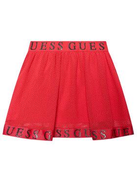 Guess Guess Sukně K1RD02 KACZ0 Růžová Regular Fit