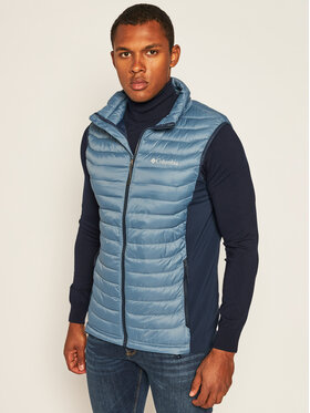 Columbia Columbia Mellény Powder Pass 1842414441 Kék Regular Fit