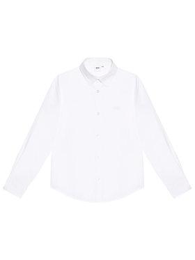 Boss Boss Πουκάμισο J25L26 S Λευκό Regular Fit
