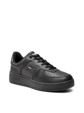 Tommy Jeans Tommy Jeans Sneakersy Basket Cupsole Tjm EM0EM00720 Čierna