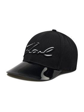 KARL LAGERFELD KARL LAGERFELD Καπέλο Jockey 215W3409 Μαύρο
