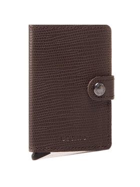 Secrid Secrid Malá pánska peňaženka Miniwallet MRa Hnedá