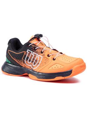 Wilson Wilson Обувки Kaos Junior Ql WRS327080 Оранжев