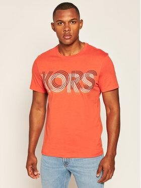 MICHAEL Michael Kors MICHAEL Michael Kors T-Shirt Logo CU05JJYFV4 Pomarańczowy Regular Fit
