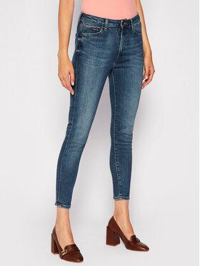 Tommy Jeans Tommy Jeans Τζιν Super Skinny Fit Sylvia Hr DW0DW08635 Σκούρο μπλε Super Skinny Fit