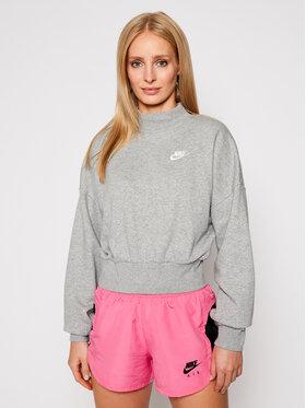 NIKE NIKE Bluza Sportswear Essential CZ2521 Szary Oversize