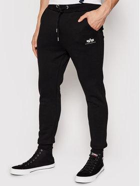 Alpha Industries Alpha Industries Teplákové kalhoty Basic Jogger 116370 Černá Slim Fit