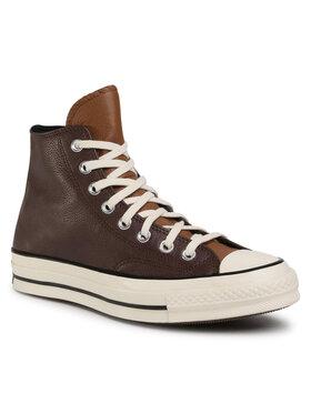 Converse Converse Sneakers aus Stoff Chuck 70 Hi 169582C Braun