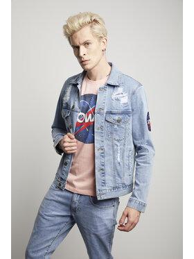 Vistula Vistula Jeansová bunda Unisex David Bowie 15 XA1349 Modrá Slim Fit