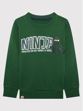 LEGO Wear LEGO Wear Bluza 12010229 Zielony Regular Fit