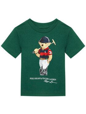 Polo Ralph Lauren Polo Ralph Lauren Marškinėliai Ss Cn 323838244001 Žalia Regular Fit