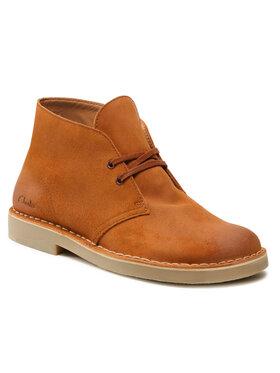 Clarks Clarks Schnürschuhe Desert Boot 2 261555057 Braun