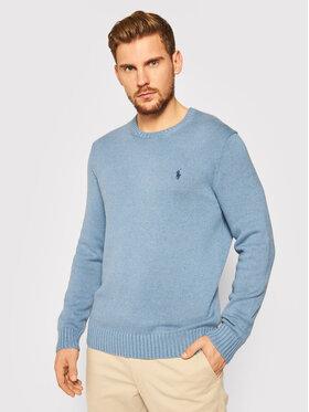 Polo Ralph Lauren Polo Ralph Lauren Пуловер Classic 710810846006 Син Regular Fit