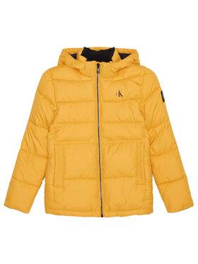 Calvin Klein Jeans Calvin Klein Jeans Kurtka puchowa Essential Puffer IB0IB00557 Żółty Regular Fit