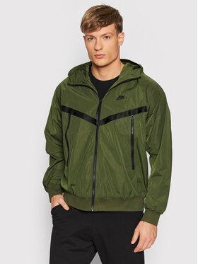 Nike Nike Giacca di transizione Premium Essentials DA7354 Verde Regular Fit