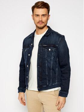 Calvin Klein Jeans Calvin Klein Jeans Τζιν μπουφάν Foundation J30J316194 Σκούρο μπλε Slim Fit