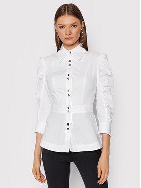 Babylon Babylon Koszula O_S00356 Biały Regular Fit