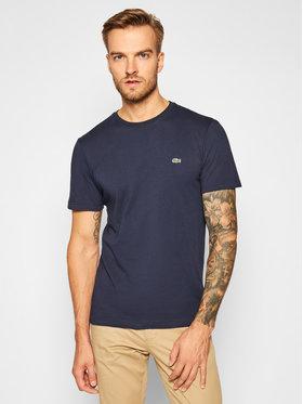 Lacoste Lacoste T-Shirt TH2038 Tmavomodrá Regular Fit
