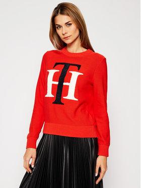 Tommy Hilfiger Tommy Hilfiger Sweater Th Graphic WW0WW29318 Narancssárga Regular Fit
