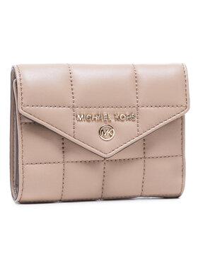 MICHAEL Michael Kors MICHAEL Michael Kors Malá dámska peňaženka Md Env Trifold 34F0LT9E6L Béžová