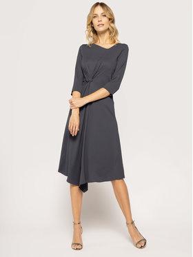 Patrizia Pepe Koktejlové šaty 8A0620/A6L4-S573 Tmavomodrá Regular Fit