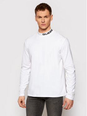 Guess Guess Longsleeve M0YI83 K49A1 Λευκό Regular Fit