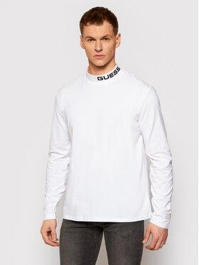 Guess Guess Marškinėliai ilgomis rankovėmis M0YI83 K49A1 Balta Regular Fit