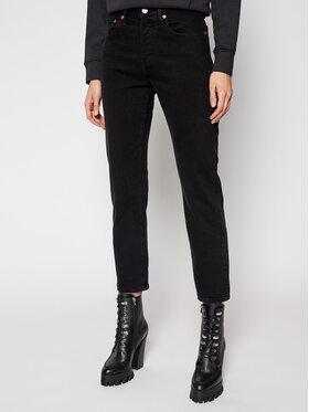 Levi's® Levi's® Cropped Fit džínsy 501® Original 36200-0085 Čierna Cropped Fit