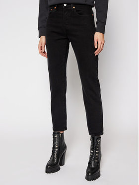 Levi's® Levi's® Τζιν Cropped Fit 501® Original 36200-0085 Μαύρο Cropped Fit