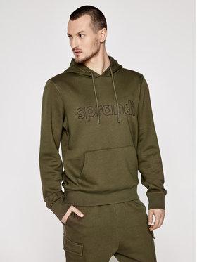 Sprandi Sprandi Bluza SS21-BLM003 Zielony Regular Fit