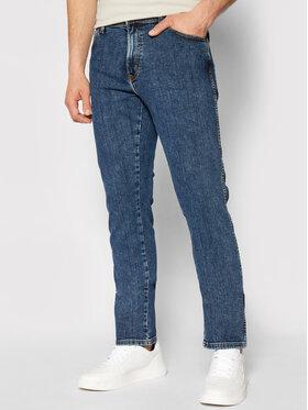 Wrangler Wrangler Jeansy Texas W12S33010 Niebieski Slim Fit