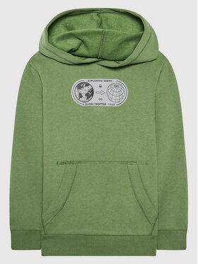 United Colors Of Benetton United Colors Of Benetton Суитшърт 3EB5C2287 Зелен Regular Fit