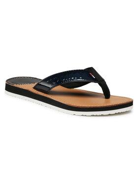 Tommy Jeans Tommy Jeans Flip-flops Iridescent Beach Sandal EN0EN01298 Fekete