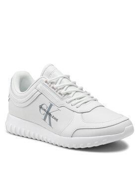 Calvin Klein Jeans Calvin Klein Jeans Sneakersy Runner Laceup Sneaker Eva Lth YM0YM00232 Biały