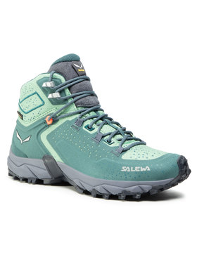 Salewa Salewa Trekkingi Ws Alpenrose 2 Mid Gtx 8540 Zielony